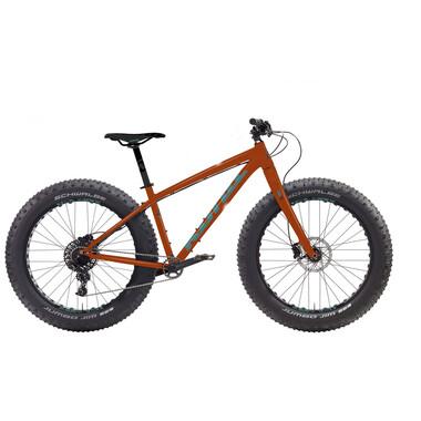 """VTT Fat Bike KONA WO 26"""" Cuivre 2020"""